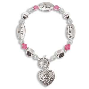 Expressively Yours Live Laugh Love Bracelet