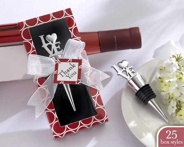 """Stop in the Name of Love"" Bottle Stopper in Personality Box (25"