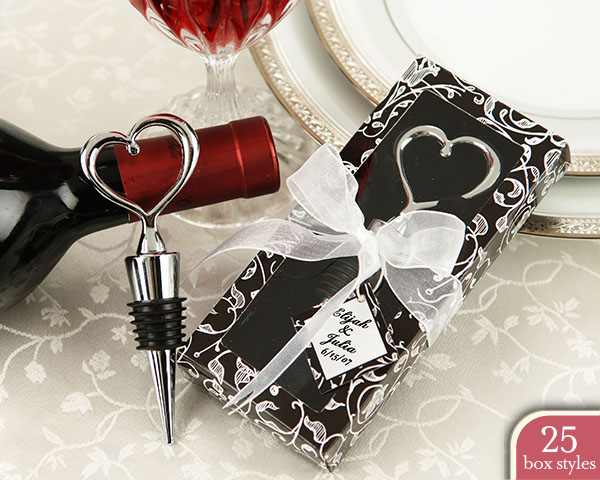 Chrome Heart Bottle Stopper in Personality Box ( 25 styles/color