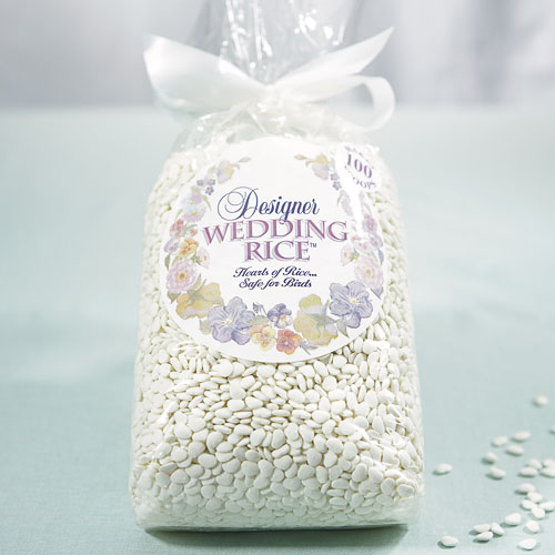 HEART SHAPED DESIGNER WEDDING RICE