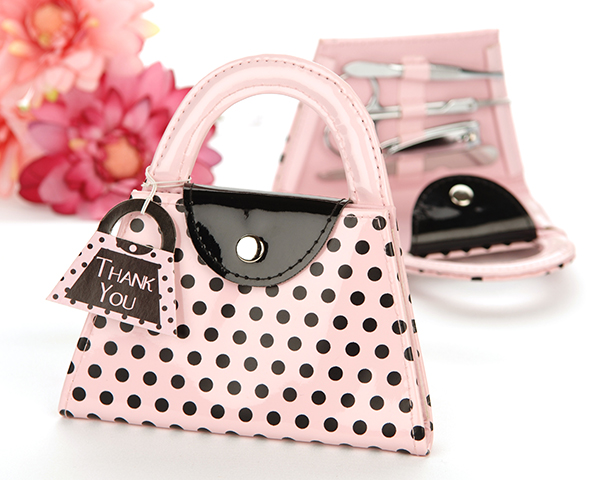 Polka Dot Manicure Set