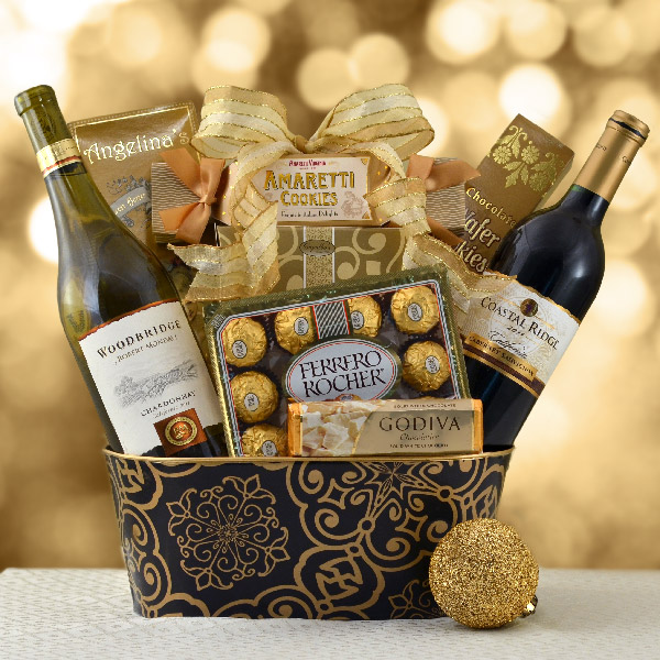 Celebration of Wine Basket