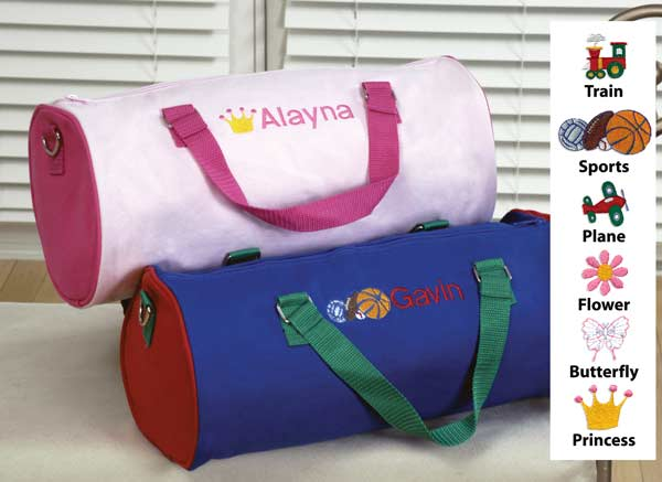 Children's Personalized Duffle Bag