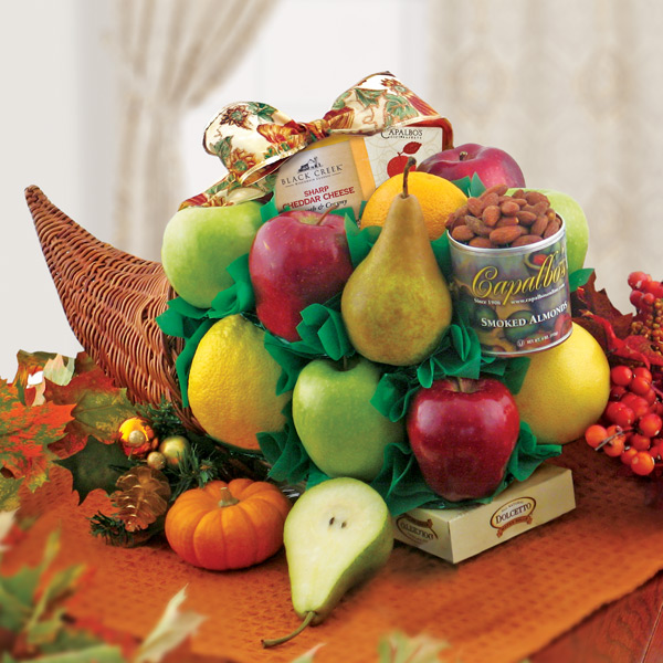Abundant Harvest Fruit Basket