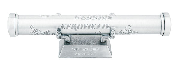 Weddng Certificate Holder