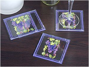 Wine Country Coasters (set of 4)