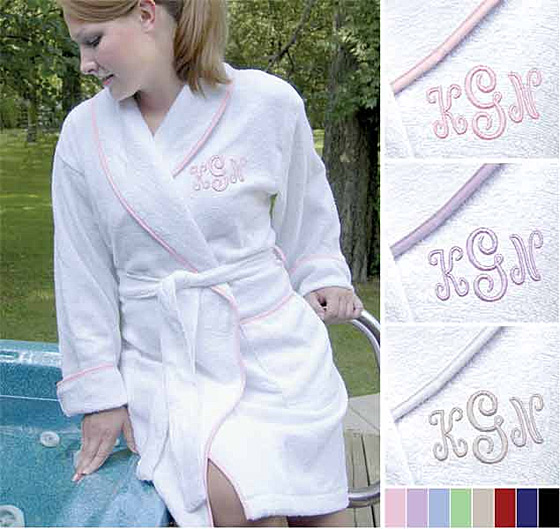 Custom Personalized Spa Robe