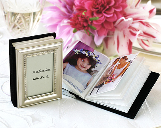 Little Book of Memories - Placecard Holder and Mini Photo A