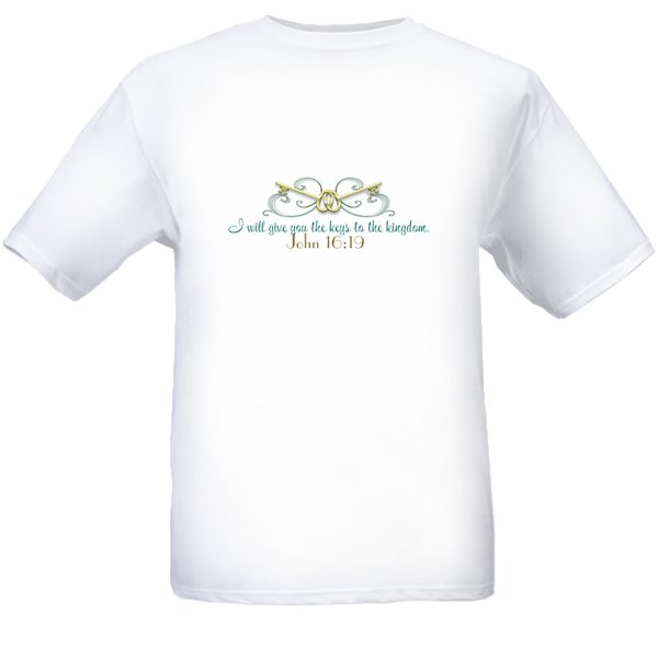 Quote Shirt - Keys To The Kingdom