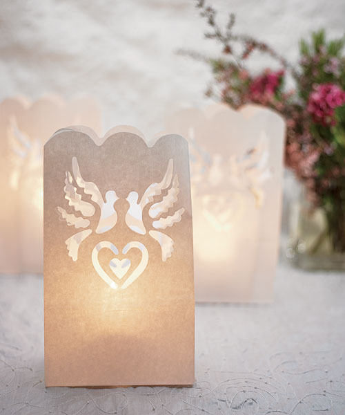 Wedding Luminaries set of 12