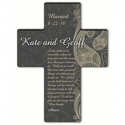 Personalized Marriage Cross