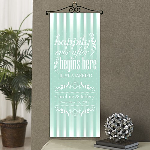 Personalized Happily Ever After Banner