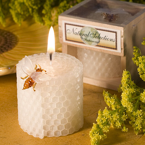 Bees Wax Candle Crate