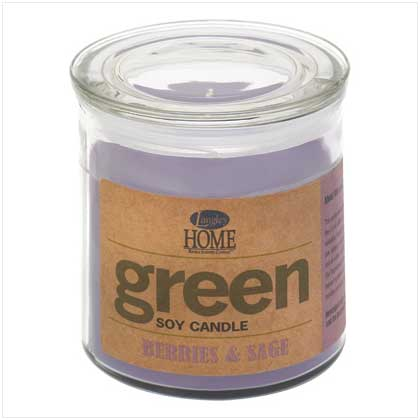 Berries & Sage Soy Candle 14 oz