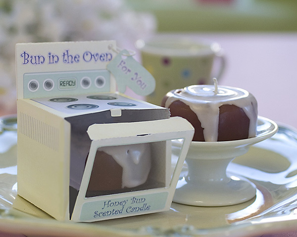 ?Bun in the Oven? Scented Candle (Set of 4)