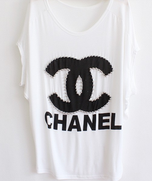 Embellished Chanel Top