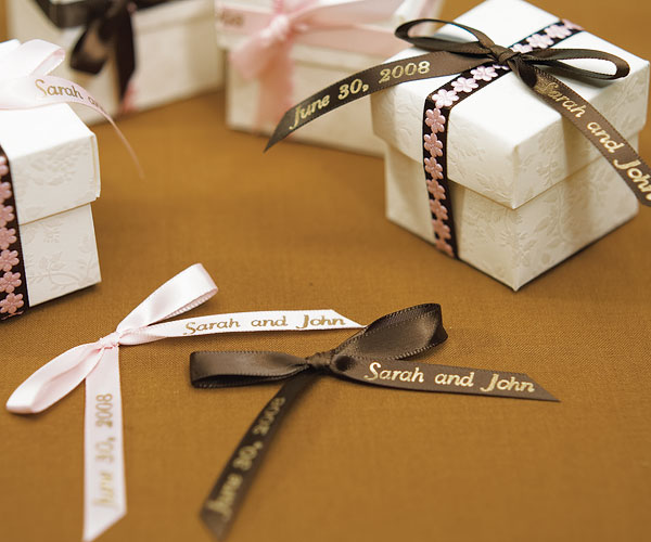 PERSONALIZED RIBBON FOR BOWS