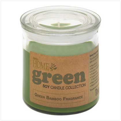 Green Bamboo Soy Candle 14 oz