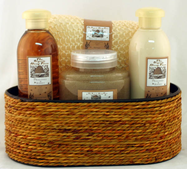 Organic Honey Bath Spa Set