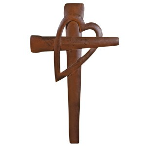 "Metal Old Rugged Cross 16"" *includes shipping"