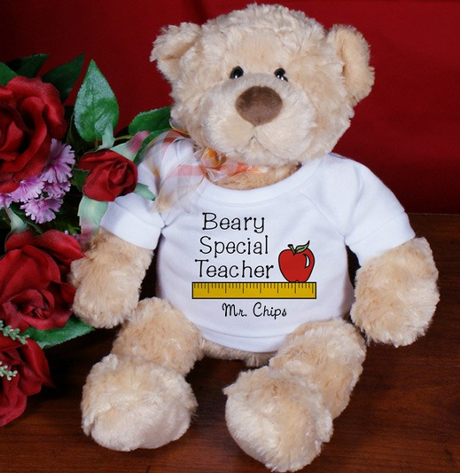 Beary Special Teacher Personalzied *14""
