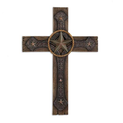 Rustic Cowboy Star Cross