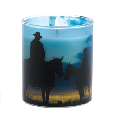Western Candle Holder