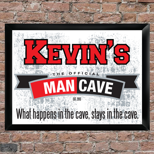 Man Cave Signs Personalized