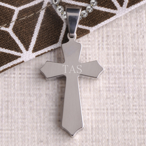 Custom Classic Cross Necklace
